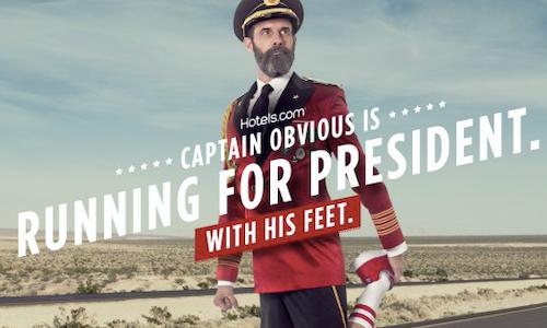 captain obvious runs for president the shorty awards