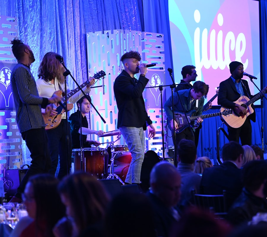 Juice perform onstage at the 4th Annual Shorty Social Good Awards