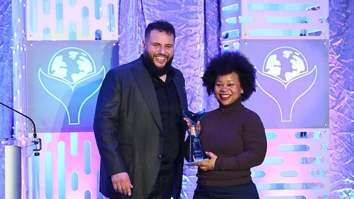 Digitas accepts Shorty Award at the 4th Annual Shorty Social Good Awards