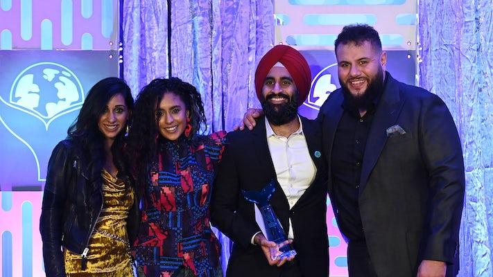 McCann New York accepts Shorty Award at the 4th Annual Shorty Social Good Awards