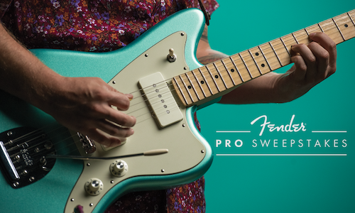 Fender Pro Sweepstakes - The Shorty Awards