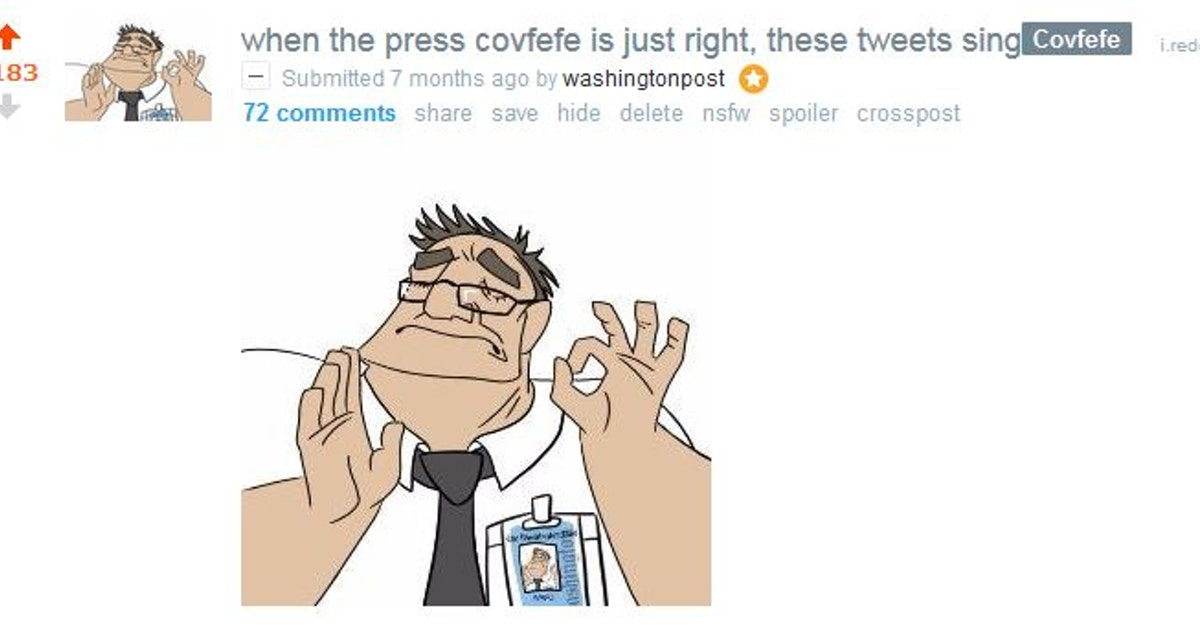 The Washington Post On Reddit The Shorty Awards