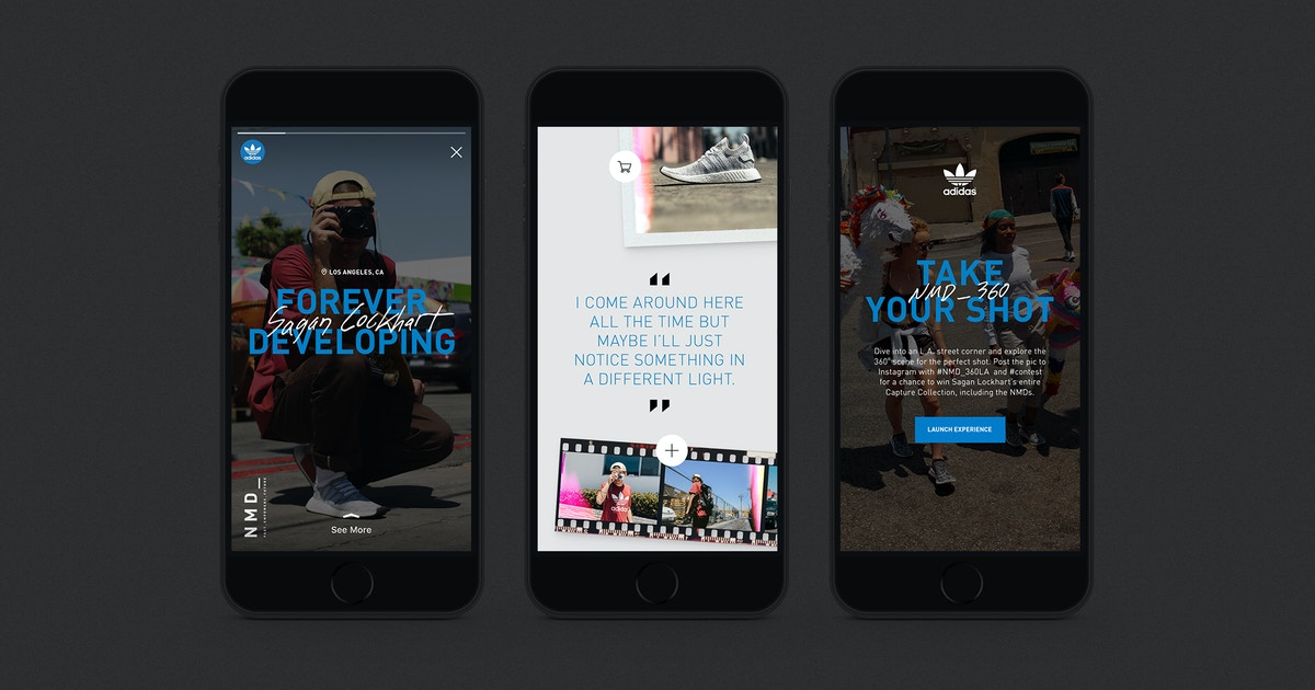 Adidas Nmd Campaign The Shorty Awards