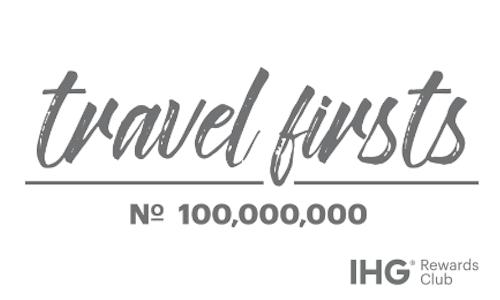 IHG Rewards Club #TravelFirsts - The Shorty Awards