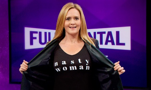 Full Frontal with Samantha Bee: Nasty Woman Campaign - The Shorty ...