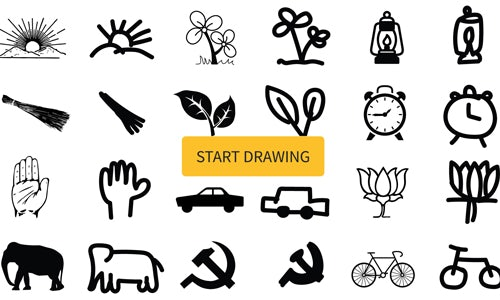 India S Political Party Symbols The