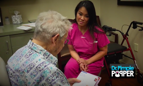 Social Media Outpouring for Dr  Pimple Popper's