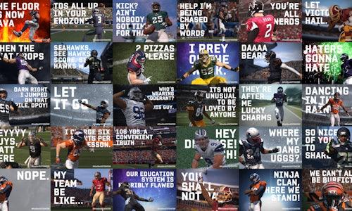 EA Sports Madden GIFERATOR: A Google Art, Copy & Code