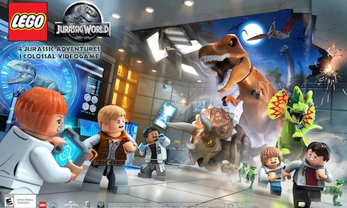 LEGO Jurassic World: The Park is Open to Influencers! - The