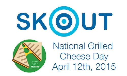 National Grilled Cheese Day 2015 - SKOUT - The Shorty Awards