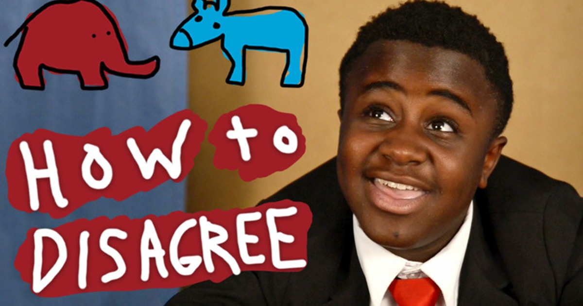 Kid President How To Disagree With People The Shorty Awards