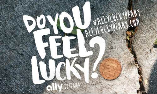 Ally Bank Auto Login >> Ally Lucky Penny - The Shorty Awards