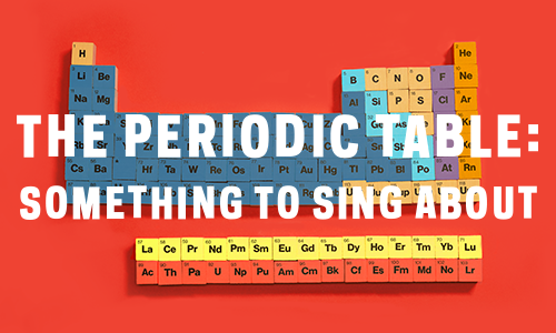 The Periodic Table Something To Sing About The Shorty Awards
