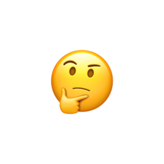 Thinker >> The Thinker Emoji Of The Year Presented By Watchable The
