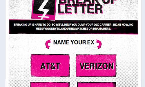 T-Mobile: The Break-Up Letter - The Shorty Awards